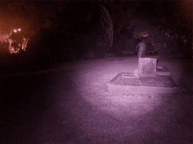 Ghost Photographed at St. Bartholomew's Cemetery in Western Sydney - 10 Scary Ghost Photos That No One Can Explain