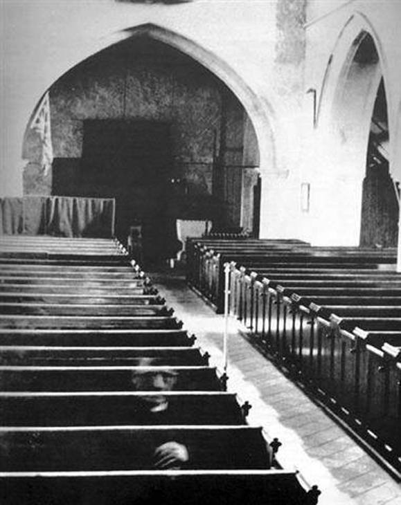 The Eastry Church Ghost - 10 Creepy Church Ghost Sightings Caught on Camera