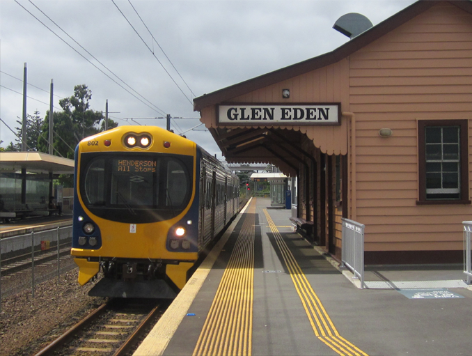 Glen Eden is one of many Haunted Train Stations Around the World
