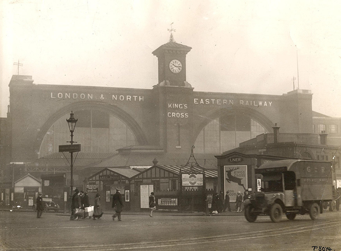 Kings Cross Station is one of many Haunted Train Stations Around the World