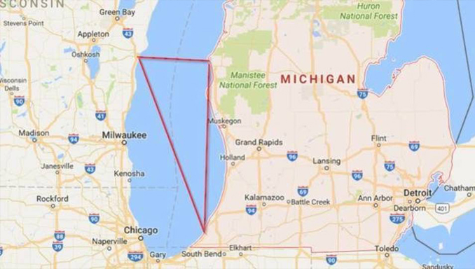 Lake Michigan is one of many Cursed Destinations You Should NEVER Visit