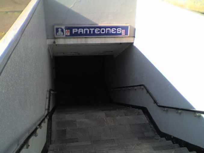Panteones Metro station in Mexico is one of many Haunted Train Stations Around the World