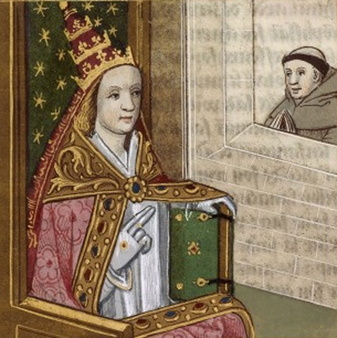 The Strange case of Pope Joan is one of many Mysterious Events No One Has the Answers To