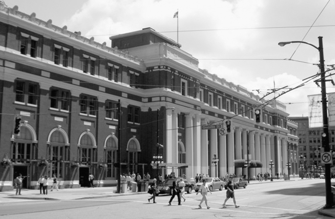 Waterfront Station Canada is one of many Haunted Train Stations Around the World
