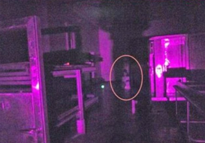 The ghost of a girl photographed at Beechworth Lunatic Asylum - These Hospital Ghost Sightings Have Patients and Staff Worried