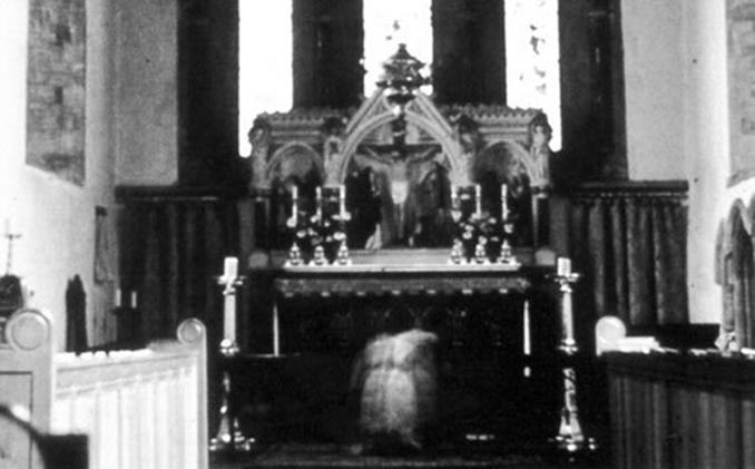 The Monk of St Mary's is one of the scariest vintage ghost photos ever taken.