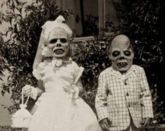 Vintage monster Halloween costumes - The Scariest Halloween Costumes of All Time