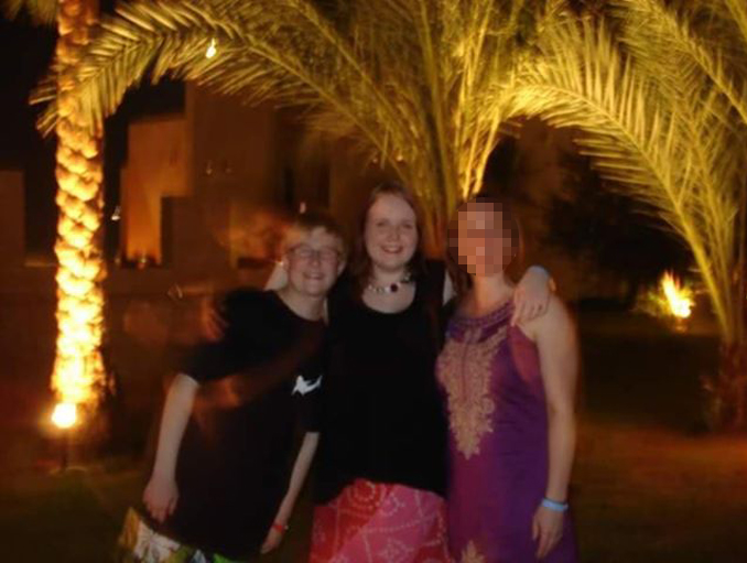 Ghost appears in family photo - These Creepy Photos Cannot be Explained