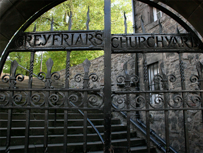 The Greyfriar's Kirkyard is one of the Most Haunted Cemeteries Around the World