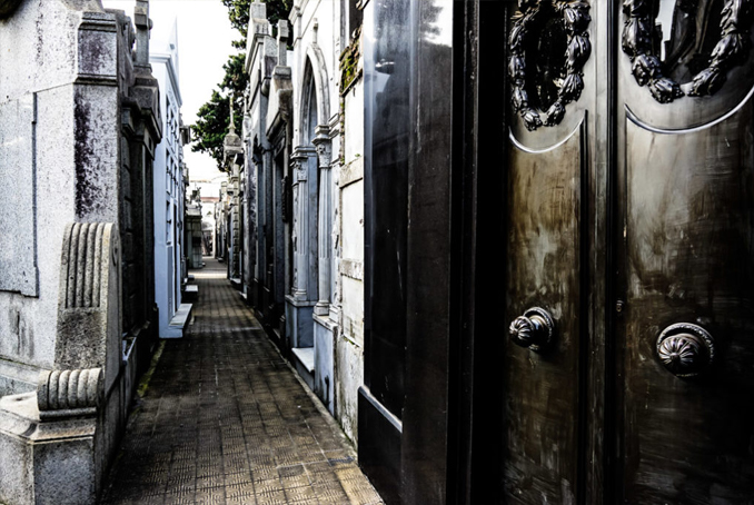 Recoleta cemetery is one of the Most Haunted Cemeteries Around the World