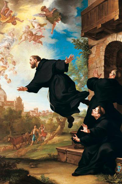 Joseph of Cupertino is one of the Most Bizarre Miracles Ever Documented