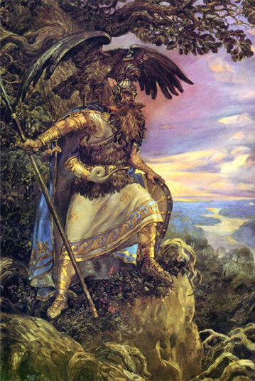 Perun is one of many Creatures from Eastern European Folklore
