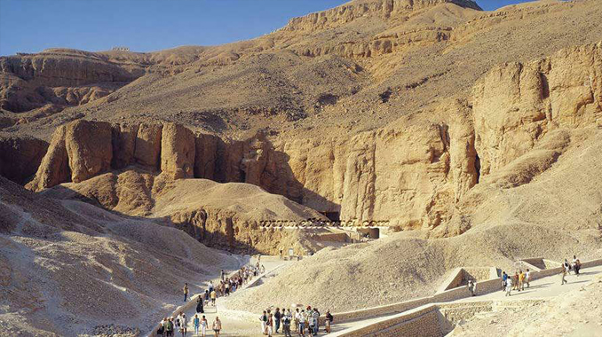 The Valley of the Kings is one of the Most Haunted Cemeteries Around the World