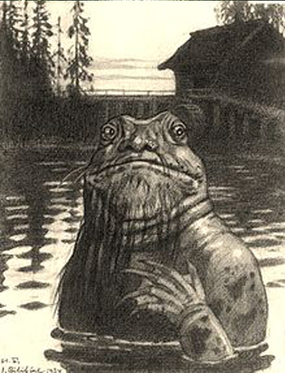 The Vodianoi is one of many Creatures from Eastern European Folklore