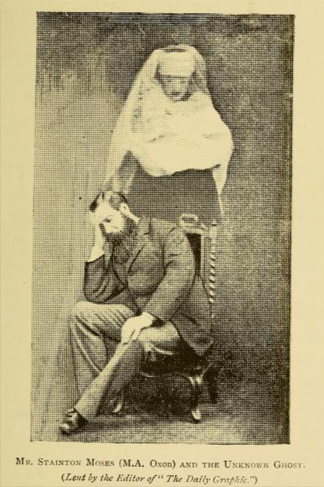 These photos are part of the eerie History of Ghost Photography
