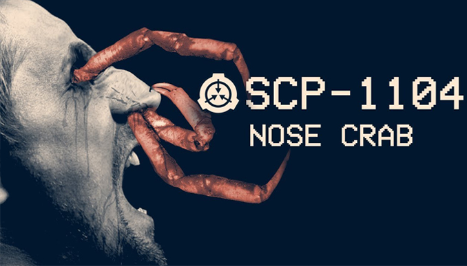 The Nose Crab as documented by the SCP Foundation