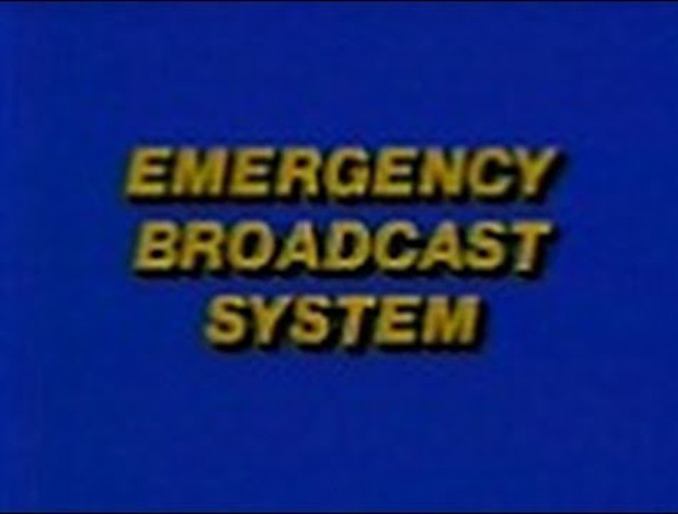 1971 emergency broadcast system message in one of the most famous false alarms in history.