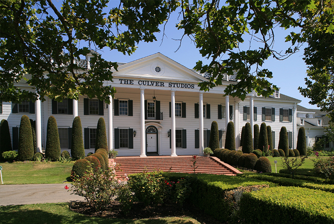 Outside shot of Culver Studios which is allegedly haunted