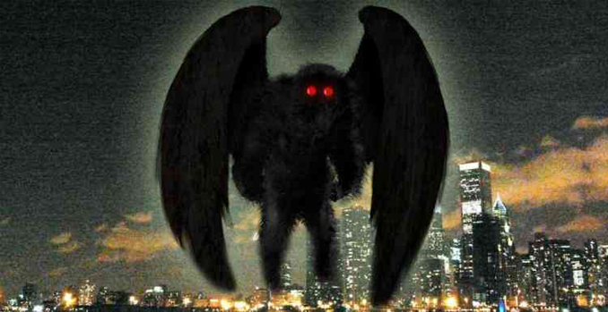 Demon with red eyes