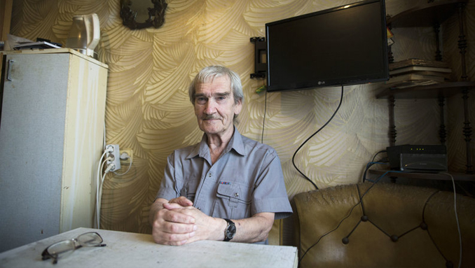 Photo of Stanislav Petrov who predicited one of the most famous false alarms in history.