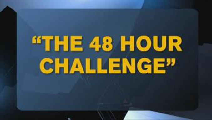 The 48 hour challenge spawns facebook posts with scary backstories.