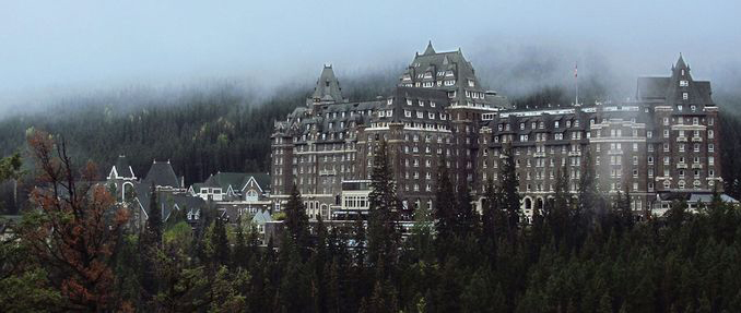 Room 873 at the Banff Springs Hotel is rumoured to be haunted