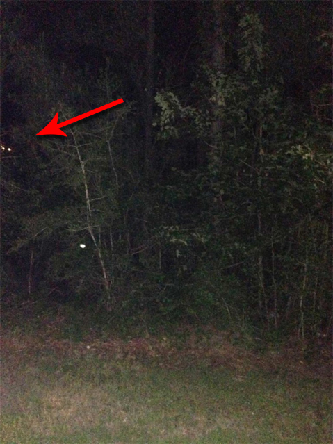 Glowing eyes captured on camera in Texas Cemetery. Some say this creepy cemetery photo is proof of a monster