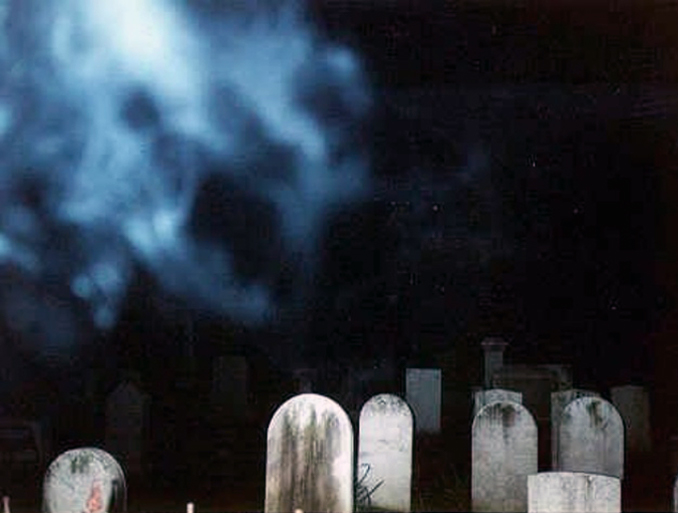 Famous ghost photo Union cemetery Ghost