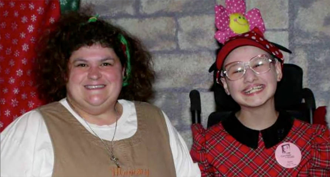 This innocent photo of dee and gypsy rose blanchard is from a Facebook post with scary backstories
