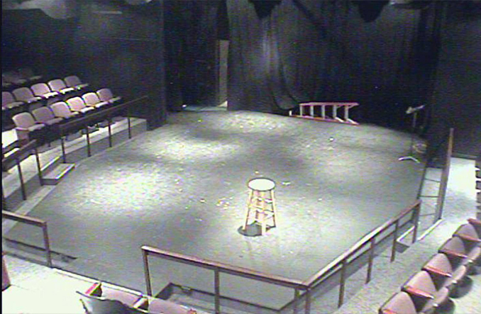 A paranormal webcam at the Furman Theatre purports to show ghosts