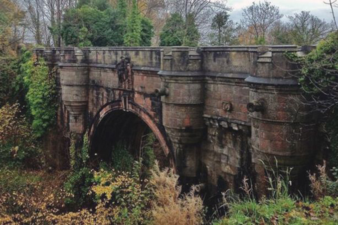 The Overtoun bridge causes dog suicides