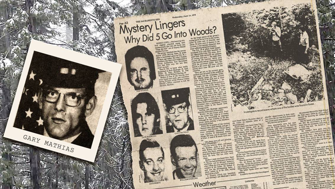 Newspaper clipping of the American Dyatlov pass, one of many unsolved mysteries
