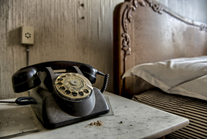 Scary phone calls from the dead.