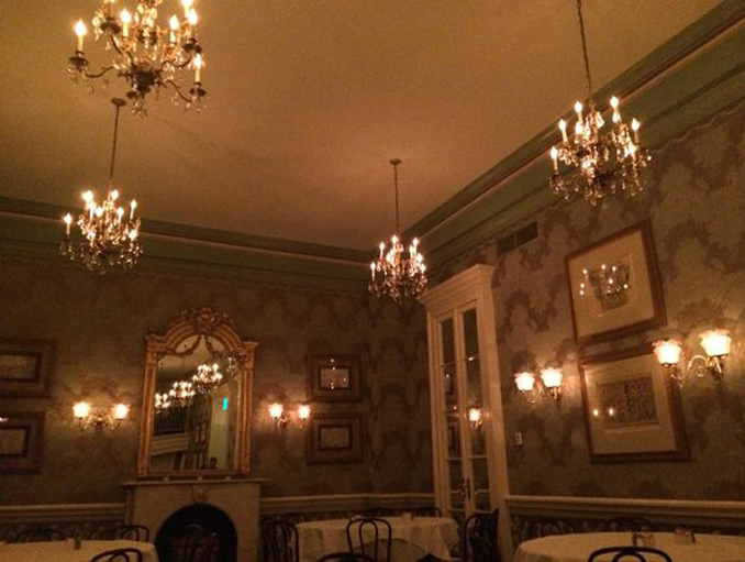 Arnaud's Restaurant, one of the most haunted places in Louisiana.