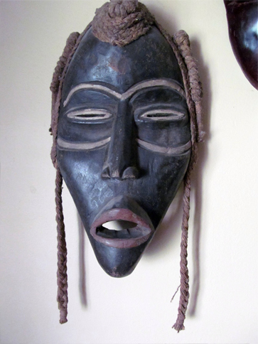 One of many liberian cursed masks