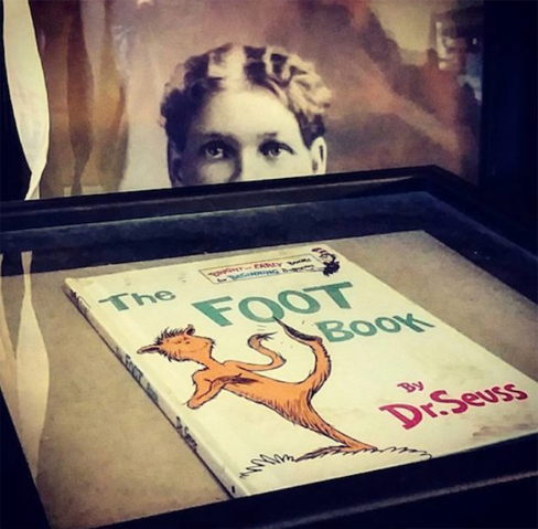 Dr Seuss The Foot Book is said to be one of the most cursed objects in the world.