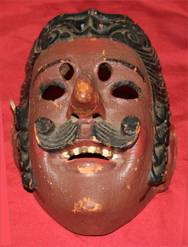 One of many Guatemalan cursed masks.