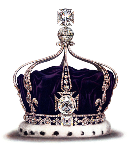 Queen Mary's Crown with Koh-i-diamond