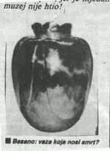 Black and white image of the Basano Vase