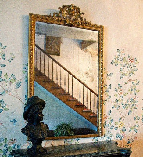 The haunted mirror, Myrtles Plantation