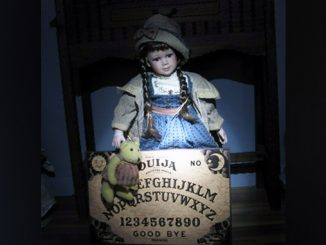 creepy haunted dolls available on eBay right now.