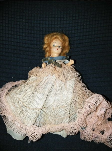 Southern Belle Doll listed on eBay, reported to be haunted.