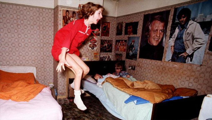 The famous Enfield Poltergeist photo
