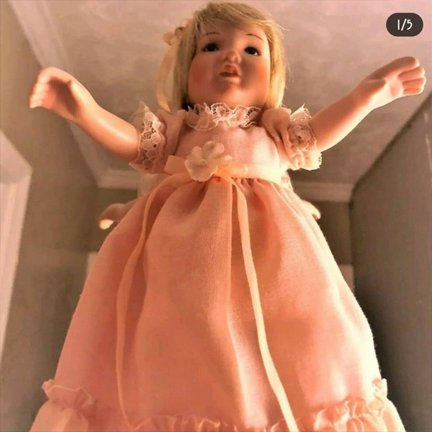 This haunted doll listed on eBay was reportedly involved in a triple homicide.