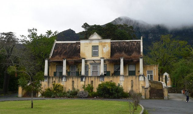 Old mansion in Cape Town South Africa