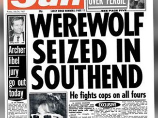 The Mysterious case of the southend werewolf.