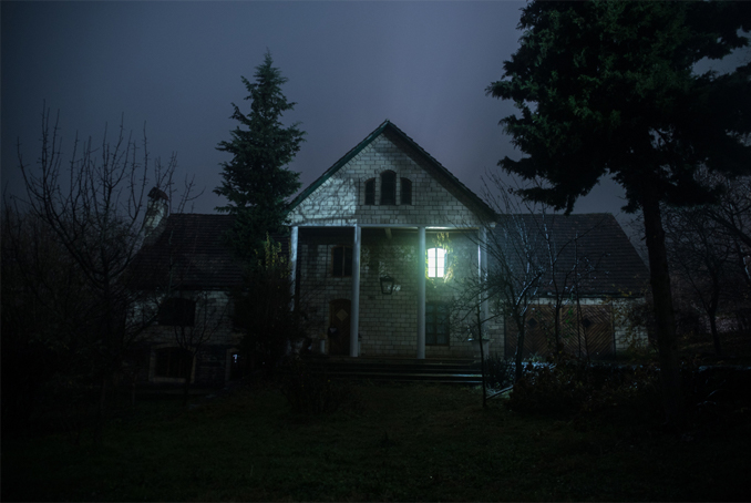 Old creepy house