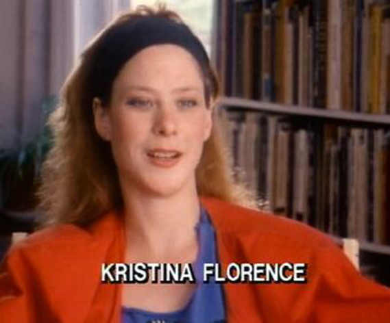 Photo of Kristina Florence, an woman who claims to be part of a scary alien abduction case