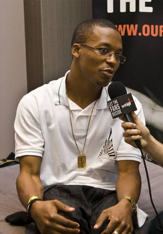 Lupe Fiasco, a celebrity who claims to have seen aliens.