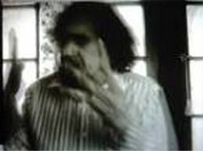 A single frame showing a possible haunting, taken from Return To Babylon